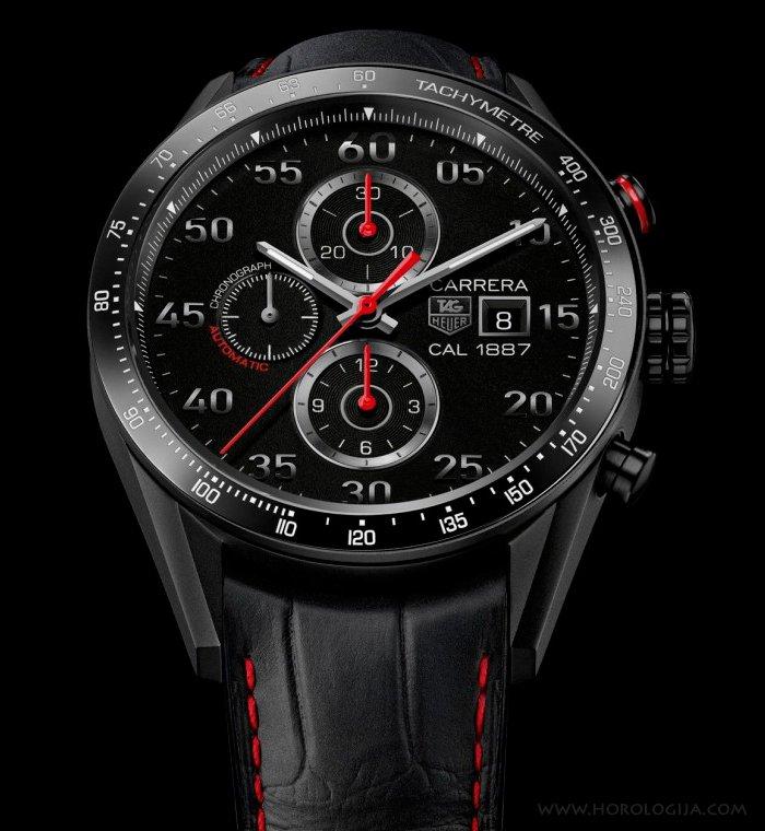 TAG Heuer Carrera 1887 Titanium Racing Chronograph sat