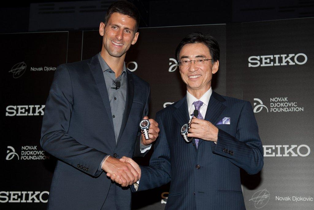 Novak Djokovic Seiko Satovi