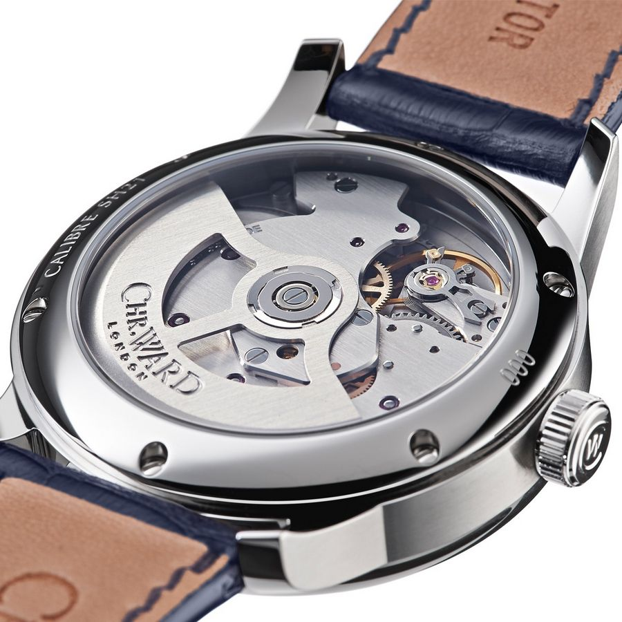 christopher ward sh21 satni mehanizam