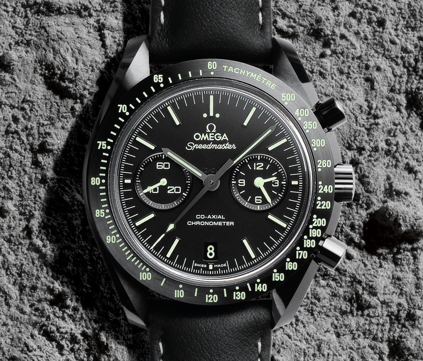Omega Speedmaster satovi Pitch Black